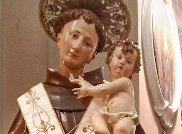 La statua di Sant'Antonio ritorna in convento